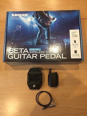 Shure GLXD16 Guitar Pedal Wireless System And Tuner • 250£