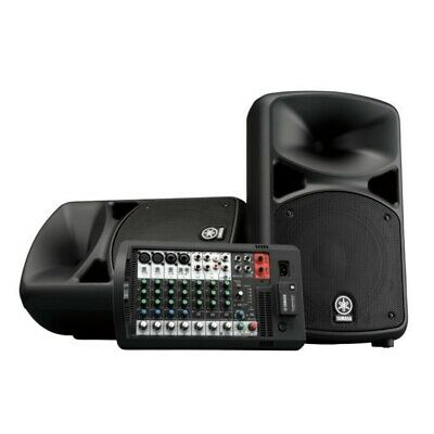 YAMAHA STAGEPAS 600BT Powered Bluetooth PA System With Cables • 715.56£