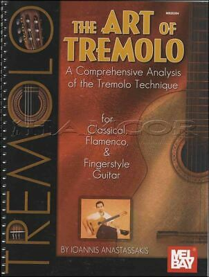 The Art of Tremolo Guitar TAB Music Book for Classical Flamenco Fingerstyle
