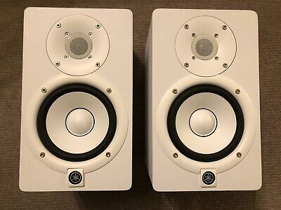 Pair (2x) YAMAHA HS5 Studio Monitor Speakers With All Leads • 195£
