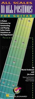 All Scales In All Positions For Guitar TAB & Music Scale Book SAME DAY DISPATCH • 7.74£