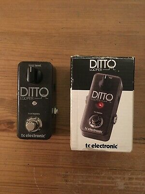 TC Electronic Ditto Looper Mini Guitar Bass Effects Pedal • 42£