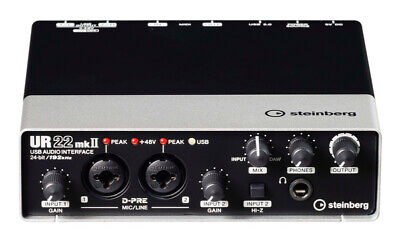 Steinberg UR22 Mk2 2x2 USB Audio Interface (NEW) • 115£