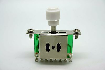 White 5 Way Switch Pickup Selector For FENDER TELECASTER Telecaster • 4.77£