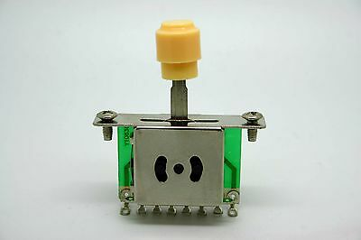 Cream - Ivory 5 Way Switch Pickup Selector For FENDER TELECASTER Telecaster • 4.77£
