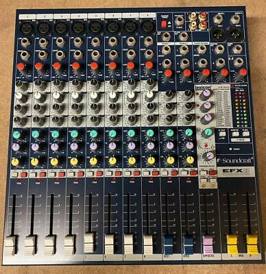 Used Soundcraft EFX-8 12 Channel Live Mixer With 32 Built-In Lexicon DSP Effects • 219£