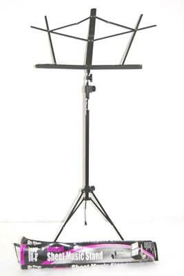 2006 TMP On Stage Compact Sheet Music Stand Sm7122 Black Metal Adjustable • 14.61£