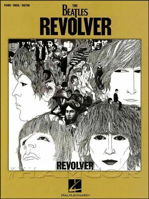 The Beatles Revolver Piano Vocal Guitar Music Book Taxman SAME DAY DISPATCH • 11.64£