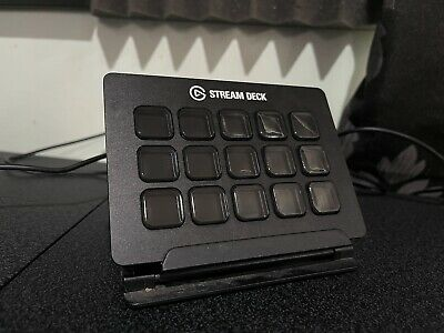 Elgato Stream Deck / 15 Buttons • 107£