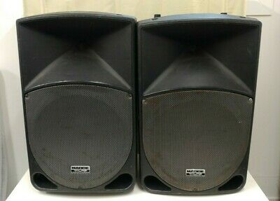 2 X Mackie Thump TH-15A Active PA Amplified Speakers Pair TH15A • 349.99£