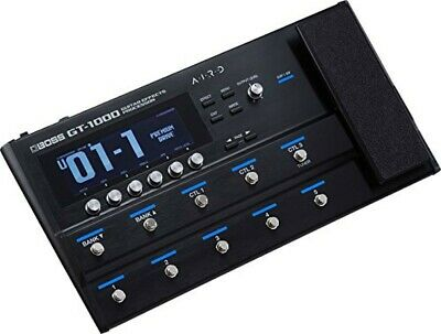 BOSS Guitar Effects Processor GT-1000 Multi Effector Black Blue Audio Equipment • 765.06£