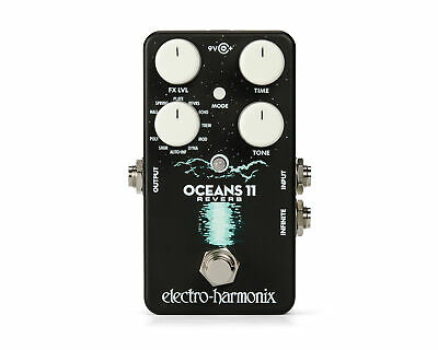 Electro-Harmonix EHX Oceans 11 Reverb Effects Pedal • 108.40£