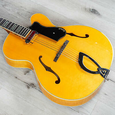 Guild A150 Savoy Hollowbody Archtop Electric Guitar Indian RW Board Blonde +Case • 1,017.34£