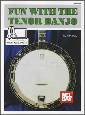 Fun With The Tenor Banjo Music Book With Audio And Video 4-String Mel Bay • 7.90£
