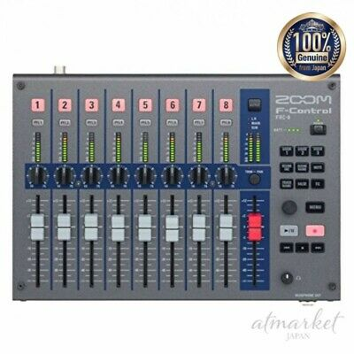 ZOOM F-Control FRC-8 Multitrack Field Recorder F8n F8 F4 Mixer Type Controller • 270.62£
