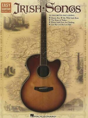 Irish Songs for Easy Guitar TAB & Music Song Book 25 Favorites SAME DAY DISPATCH