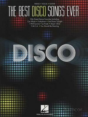 The Best Disco Songs Ever Piano Vocal Guitar Sheet Music Book