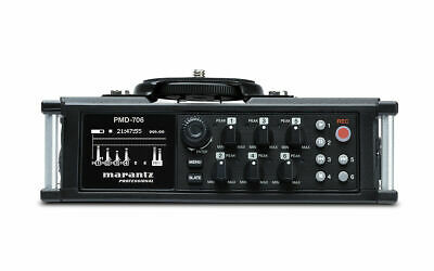 Marantz Pro PMD-706 6-channel Solid State Field Audio Recorder PMD706 • 112.32£