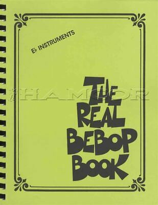 The Real Bebop Book for Eb Instruments Sheet Music Book Jazz SAME DAY DISPATCH