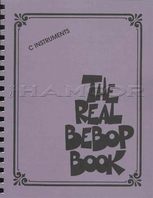 The Real Bebop Book for C Instruments Sheet Music Book Jazz SAME DAY DISPATCH