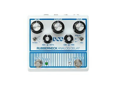 New DOD Rubberneck Analog Delay Guitar Effects Pedal Digitech • 180.86£