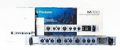 TC Electronic M350 Multi-Effects & Reverb Signal Processor With Box And Manual • 306.10£