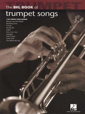 The Big Book Of Trumpet Songs Sheet Music Book 130 Songs Coldplay E T Elvis • 12.02£
