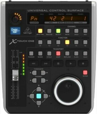 Nr Mint Cond BEHRINGER USB MIDI Interface X-TOUCH One Daw Univ. Control Surface • 119.99£