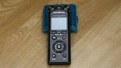OLYMPUS Linear PCM Recorder LS-P4 Black 8GB FLAC Compatible High Res • 49.99£