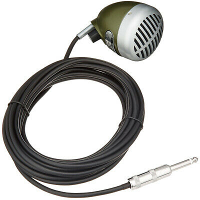 Shure 520DX Green Bullet Classic Harmonica Microphone, New! • 86.19£