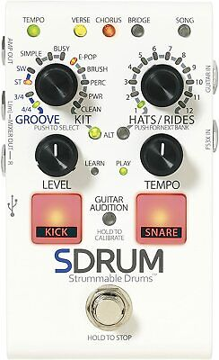 Used Digitech SDRUM ™ Strummable Drums ™ Efector From Japan • 329.62£
