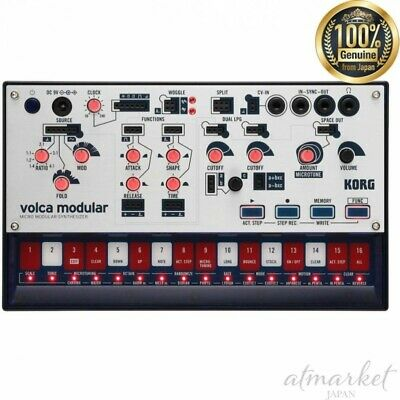 KORG Micro MODULAR Synthesizer Volca-MODULAR Volca Equipped With CV IN Terminal • 166.32£