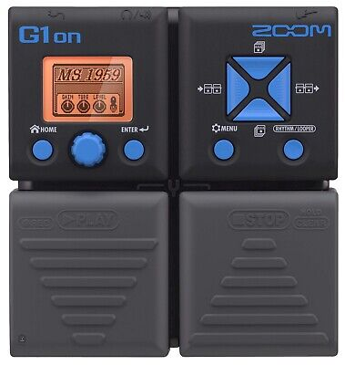 Zoom G1on Guitar Multi Effects Pedal - Boxed, No Manual • 39£