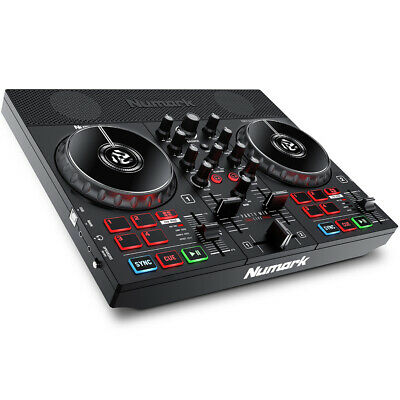 Numark Party Mix Live With Built-In Speakers & Lights, Serato DJ Controller