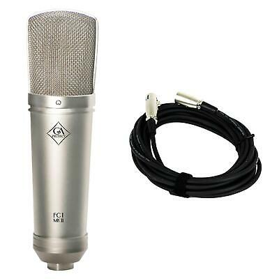 Golden Age Project FC1 MK2 Condenser Microphone w/ 20-foot XLR Cable Bundle MKII