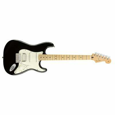 Fender Player Series Stratocaster HSS Maple Neck Electric Guitar - Black - New !