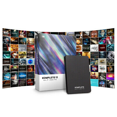Native Instruments Komplete 13 Ultimate Update From Komplete Ultimate 8-12 (NEW) • 179£