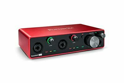 Focusrite Scarlett 4i4 (3rd Gen) USB Audio Interface With Pro Tools First • 219.04£