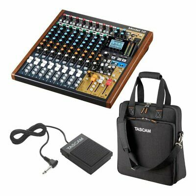 Tascam Model 12 Rc-1F Cs-Model12 All-In-One Production Mixer/Recorder/Foot • 875.28£