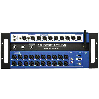 Soundcraft Ui24R Rack With Ui Casters Gift Campaign • 1,380.41£