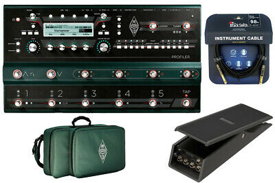 Kemper Profiler Stage Genuine Bag Xvp-20 Set With Pedals Now Sleeve Yrk • 2,440.72£