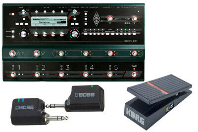 Kemper Profiler Stage Wireless And Comfortable Start Set With Exp-2 Now Sleeve • 2,357.23£