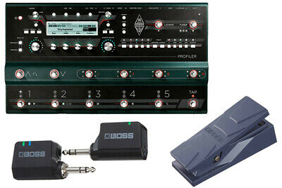 Kemper Profiler Stage Wireless And Comfortable Start Set With Ev-30 Now Sleeve • 2,298.10£