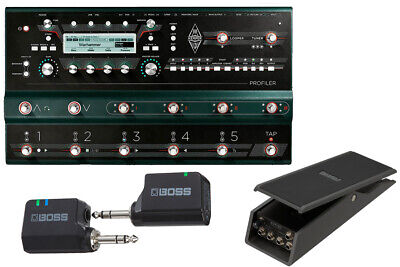 Kemper Profiler Stage Wireless And Comfortable Start Set With Xvp-20 Now Sleeve • 2,440.72£