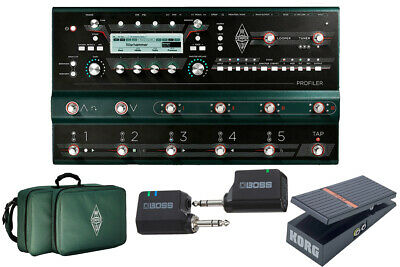 Kemper Profiler Stage Wireless Live Set Now With Sleeve Bag Yrk • 2,357.23£