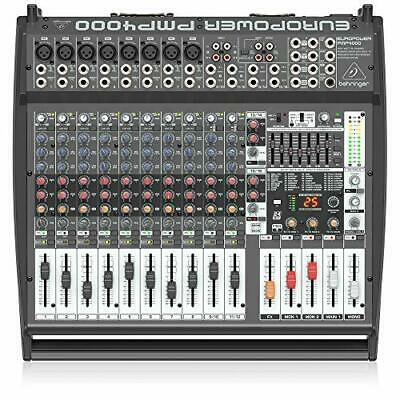 Behringer Europower PMP4000 Powered Mixer - 16 Channels, 1600 Watts With Multi-F • 553.06£
