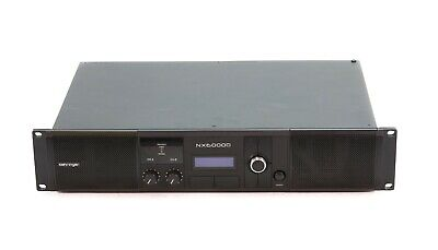 Behringer NX6000D Power Amplifier With DSP Control-DAMAGED-RRP £362 • 170£