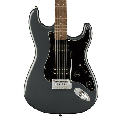 Fender Squier Affinity Stratocaster HH, Charcoal Mist Metallic (NEW)
