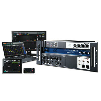 Soundcraft Ui16 16-Input Remote-Controlled Digital Mixer W/ Preamps WiFi Effects • 337.33£