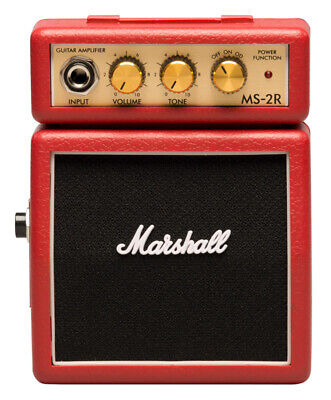 Marshall MS-2R Micro Amp, Red (NEW)